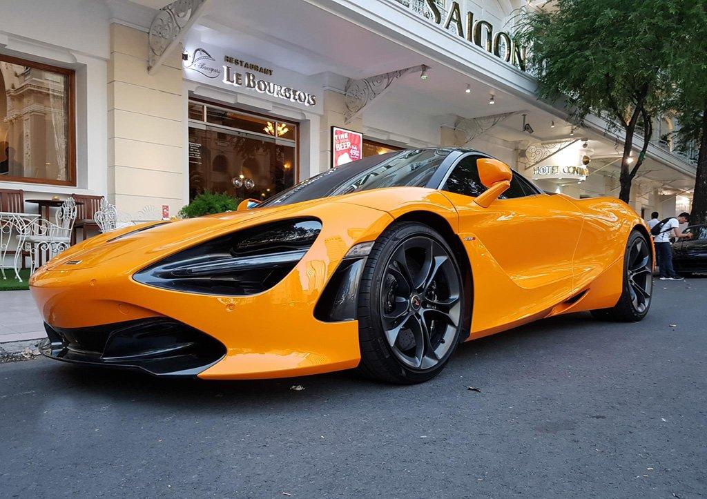 Cường Đô La tái xuất McLaren 720S trên phố sau khi bỏ qua Car Passion 2019 5a