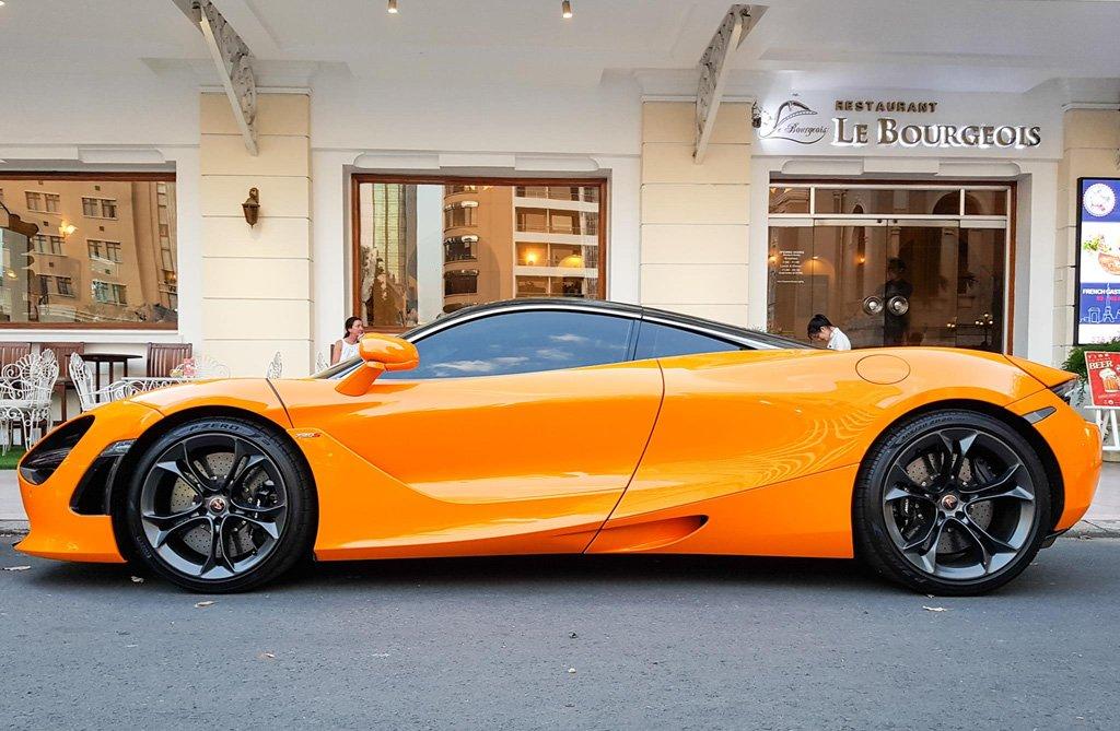 Cường Đô La tái xuất McLaren 720S trên phố sau khi bỏ qua Car Passion 2019 6a