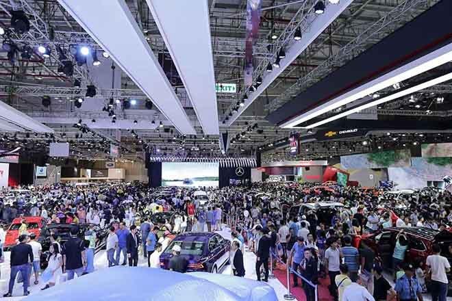 Vietnam Motor Show 2019 sắp tới sẽ vắng bóng VinFast, Porsche, BMW 2a