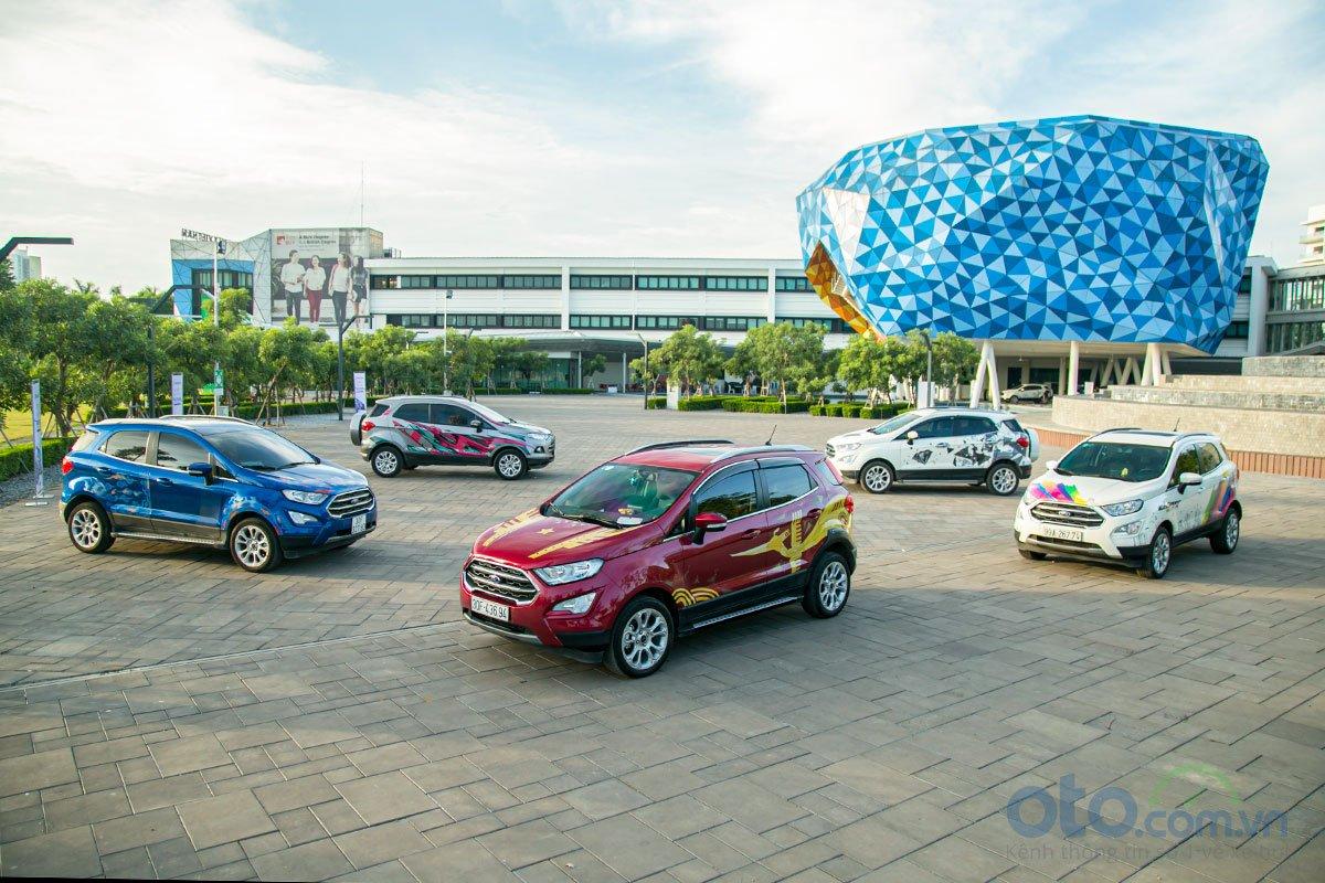Ford EcoSport đã tạo nguồn cảm hứng sáng tạo nghệ thuật cho các tác giả.