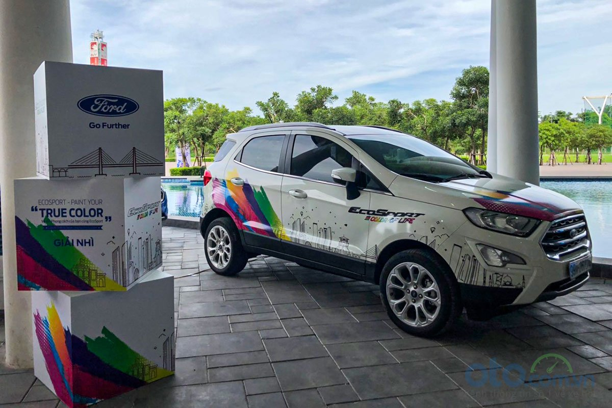 """Giải nhì của cuộc thi Ford EcoSport - Paint Your """"True Color""""."""