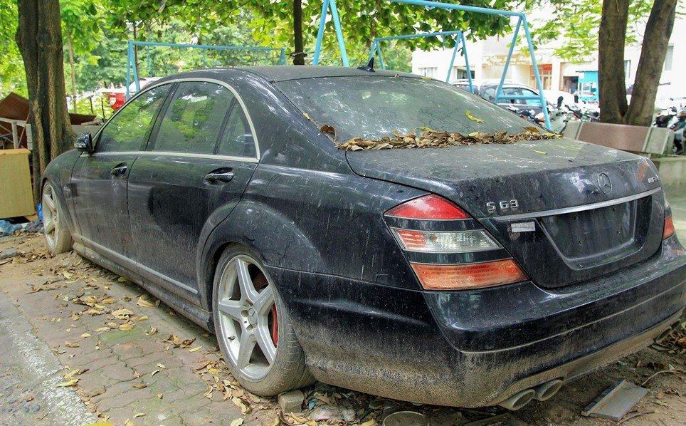 Số phận của chiếc Mercedes-Benz S63 AMG 2011 bị bỏ hoang tại Hà Nội a2