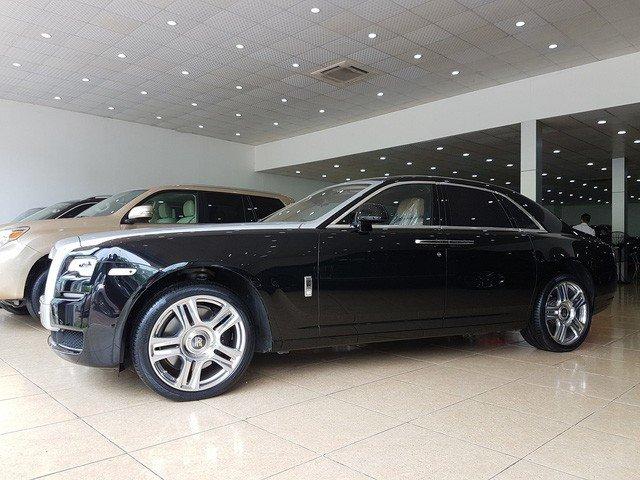 Rolls-Royce Ghost Series II cũ giá 20 tỷ đồng sau 4 năm sử dụng a1