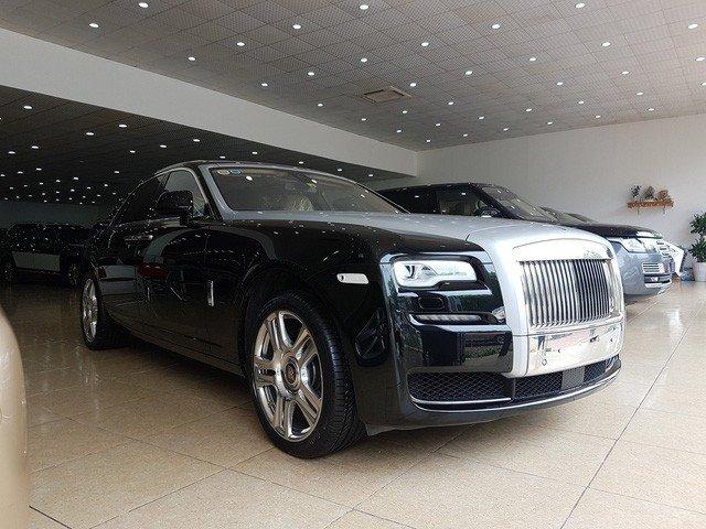 Rolls-Royce Ghost Series II cũ giá 20 tỷ đồng sau 4 năm sử dụng a2