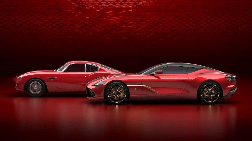 Aston Martin DBS GT Zagato chính thức lộ diện a1