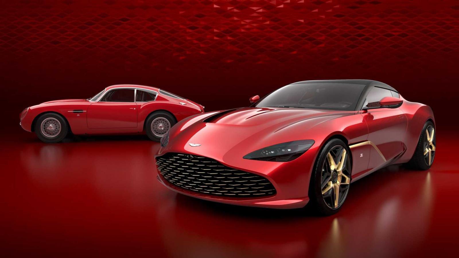 Aston Martin DBS GT Zagato chính thức lộ diện a4