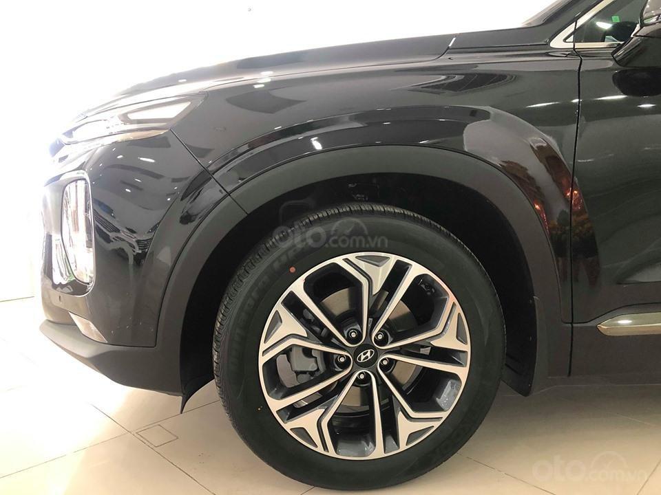 Hyundai Cầu Diễn - Bán Hyundai Santafe 2019 xăng cao cấp màu đen, tặng 10triệu - nhiều ưu đãi. LH: 0964898932 (2)