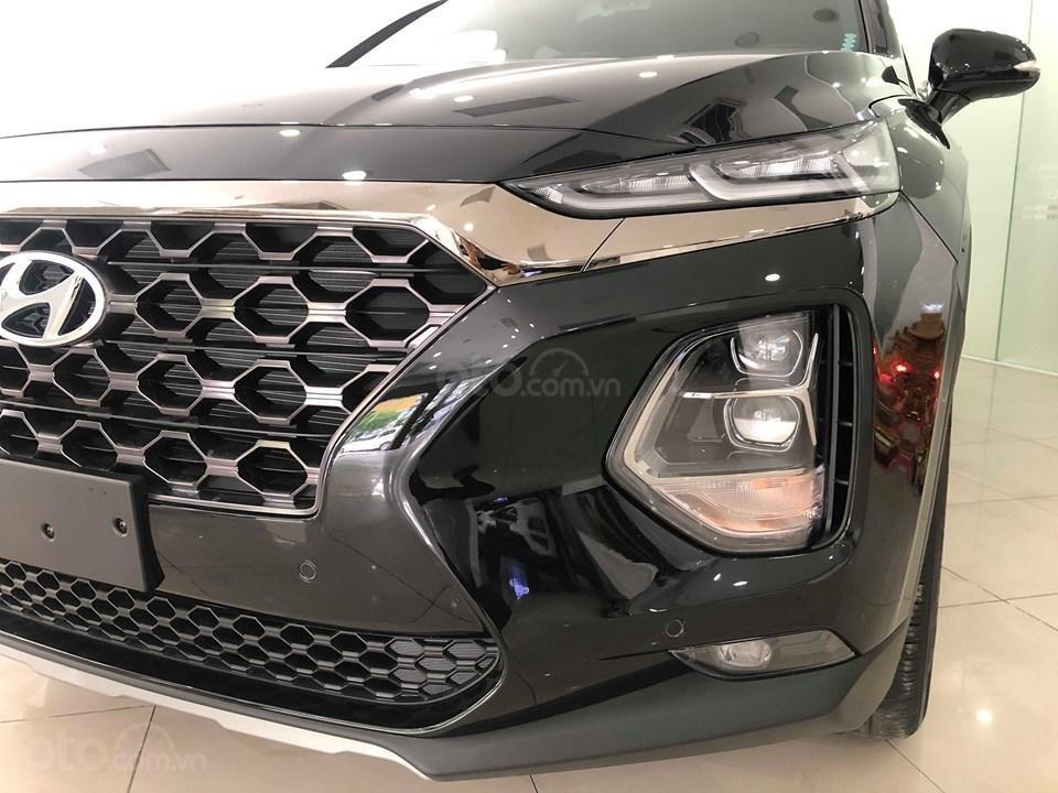 Hyundai Cầu Diễn - Bán Hyundai Santafe 2019 xăng cao cấp màu đen, tặng 10triệu - nhiều ưu đãi. LH: 0964898932 (3)