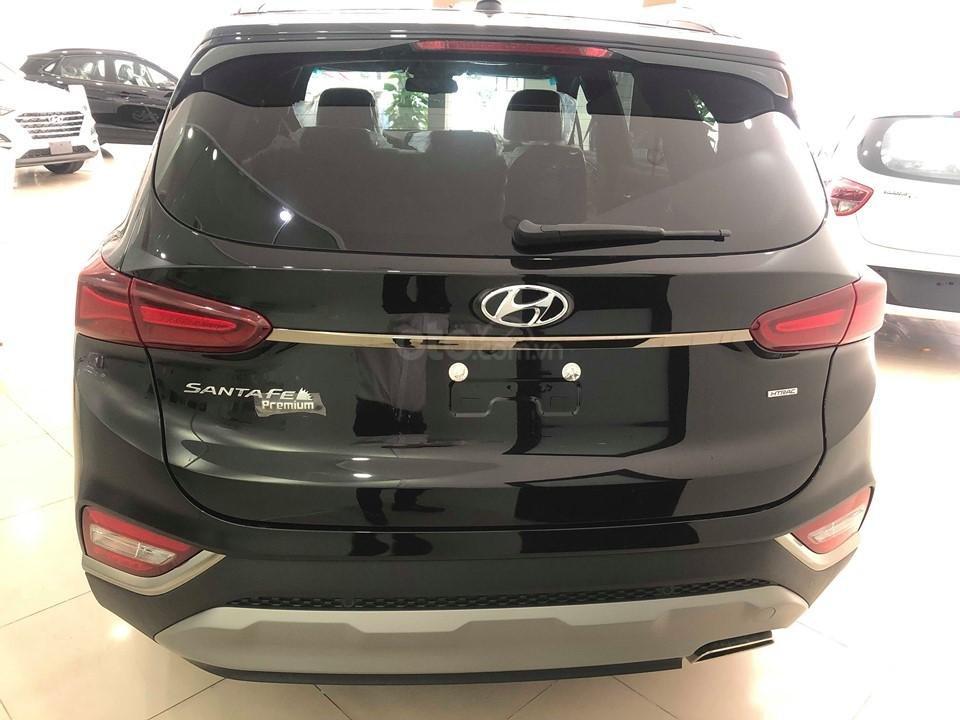 Hyundai Cầu Diễn - Bán Hyundai Santafe 2019 xăng cao cấp màu đen, tặng 10triệu - nhiều ưu đãi. LH: 0964898932 (8)