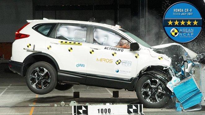 Những mẫu xe tại Việt Nam được cấp chứng chỉ an toàn Asean NCAP 1a