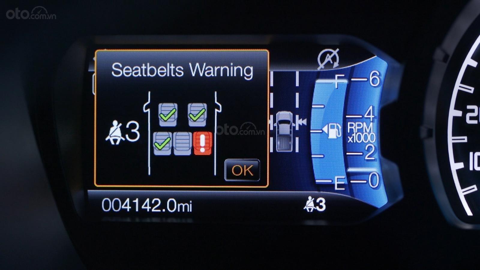 Ford Ranger 2019 bị triệu hồi do lỗi dây an toàn tăng nguy cơ chấn thương khi bị tai nạn