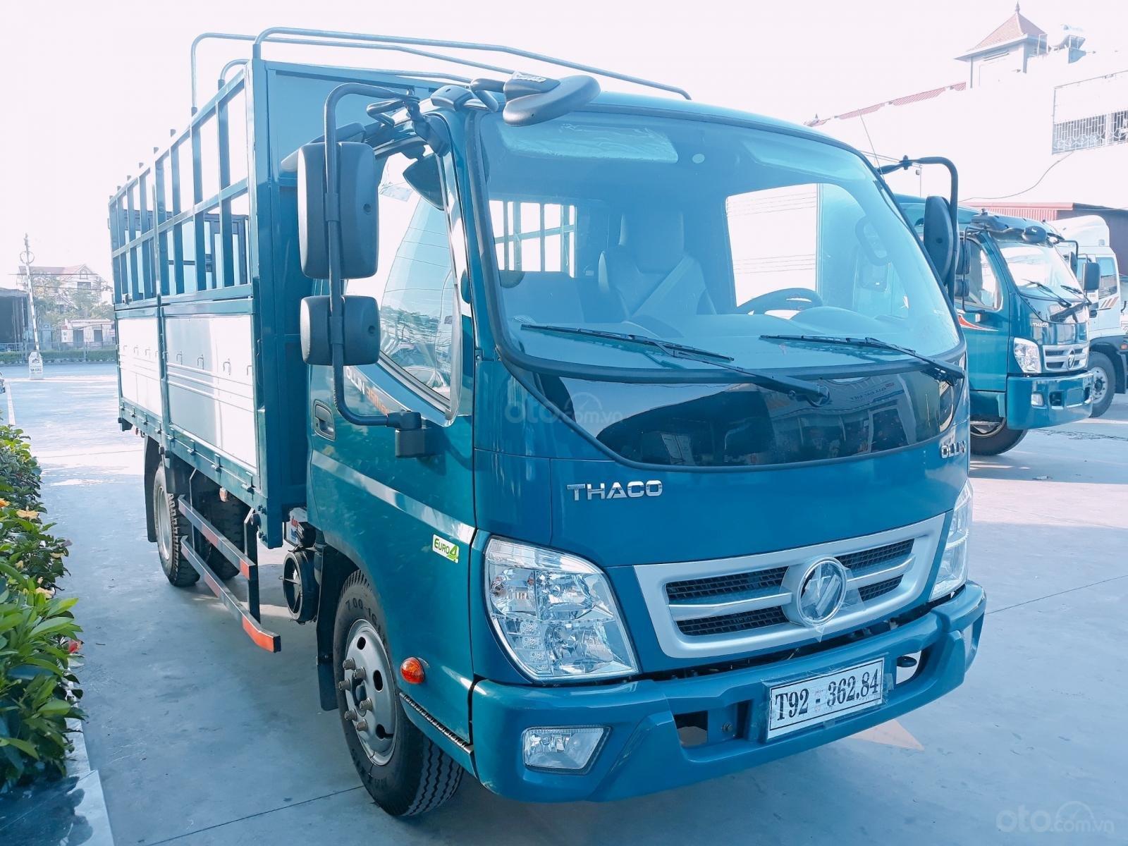 Bán xe Thaco Ollin 350. E4 3,49 tấn/2,2 tấn thùng 4,35 mét, giá chỉ 354 triệu. Lh Lộc 0937616037-1