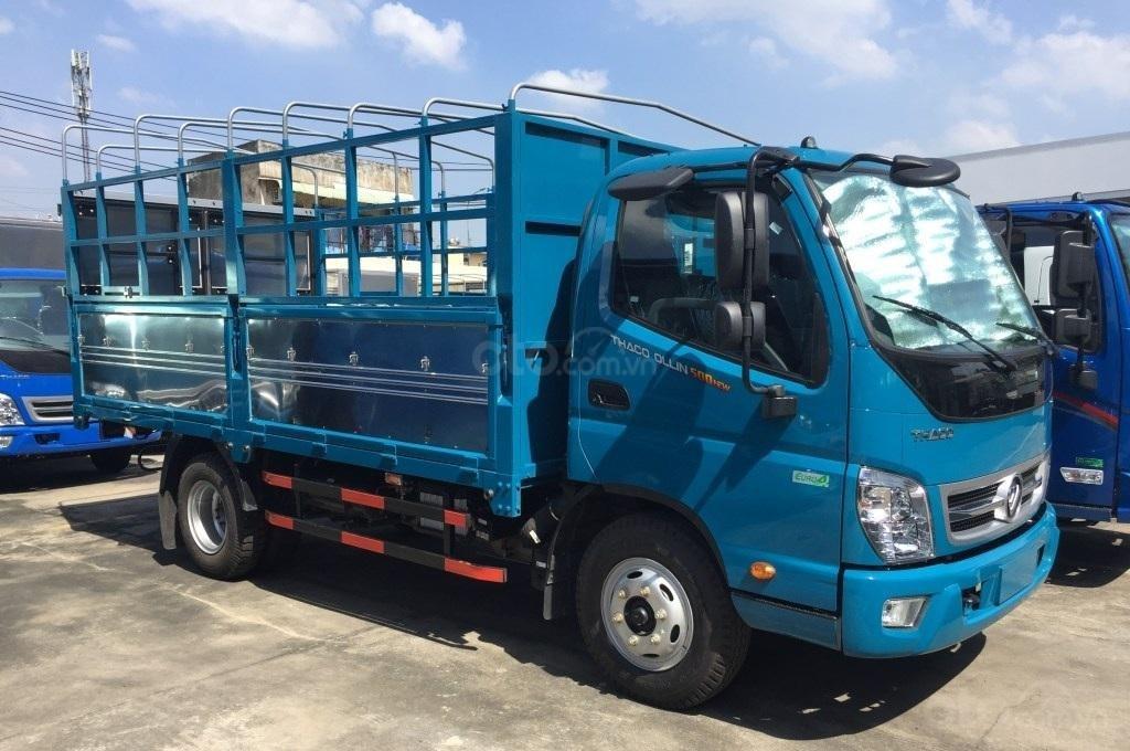 Bán xe Thaco OLLIN 500. E4 5 tấn, thùng 4,35 mét giá 439 triệu. Lh Lộc 0937616037 (1)