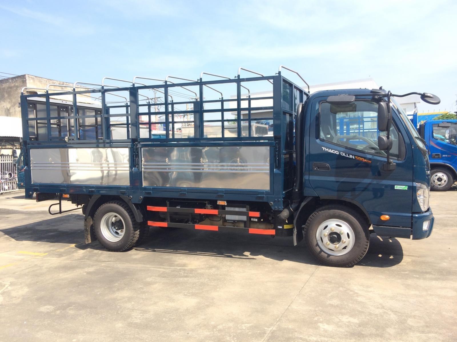 Bán xe Thaco OLLIN 500. E4 5 tấn, thùng 4,35 mét giá 439 triệu. Lh Lộc 0937616037 (3)