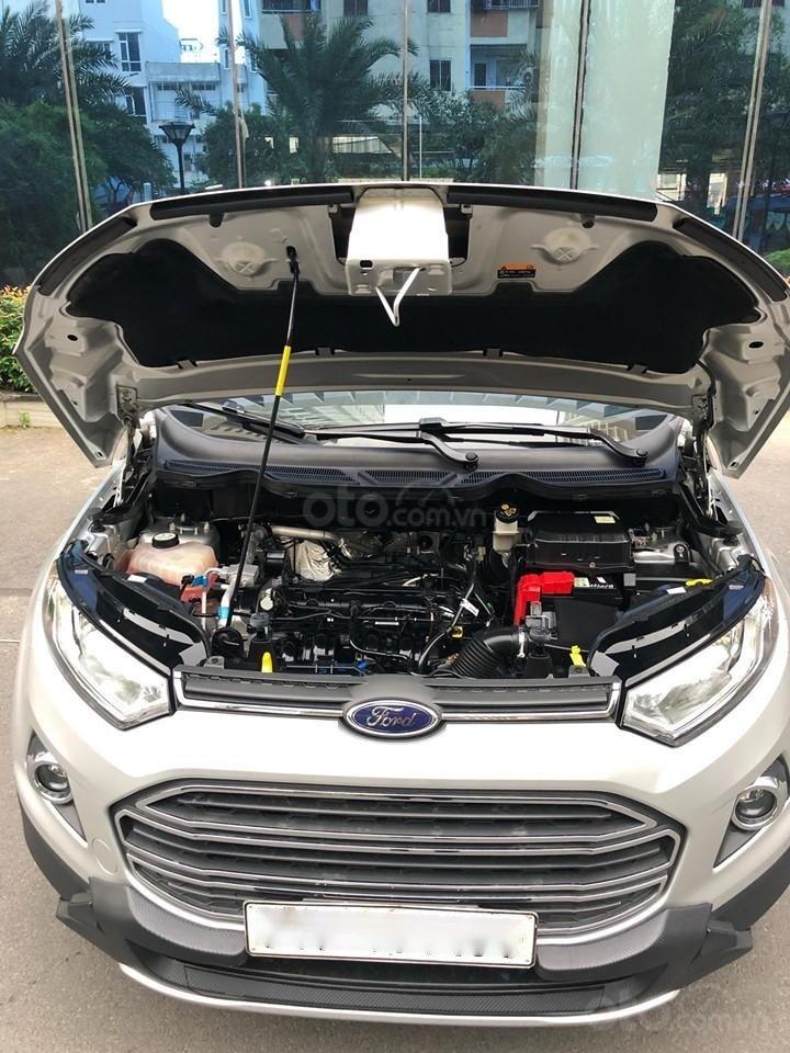 Chính chủ bán Ford EcoSport Titanium 2017, màu xám (ghi), mới chạy 9000km-15