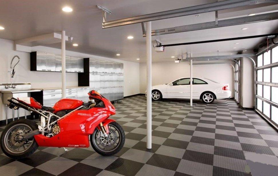 Gara ô tô nên được thiết kế đủ ánh sáng, thoáng khí .