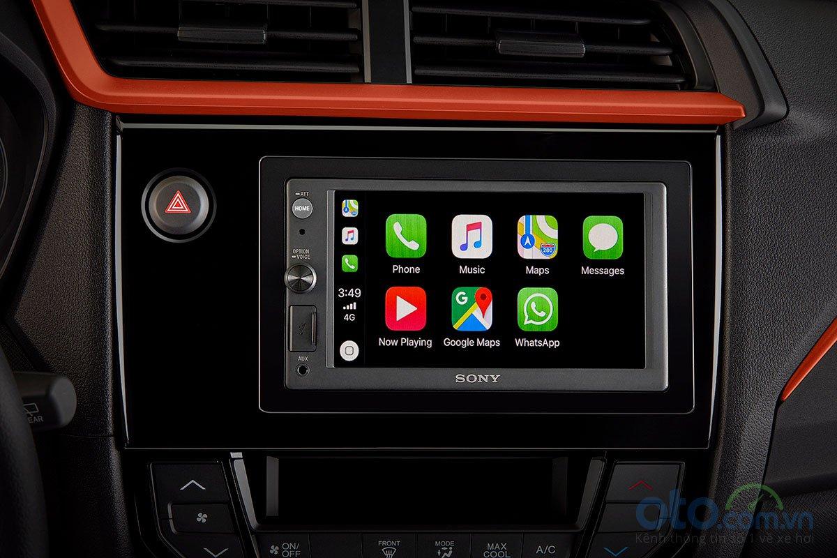 Đánh giá xe Honda Brio 2019 về trang bị tiện nghi.