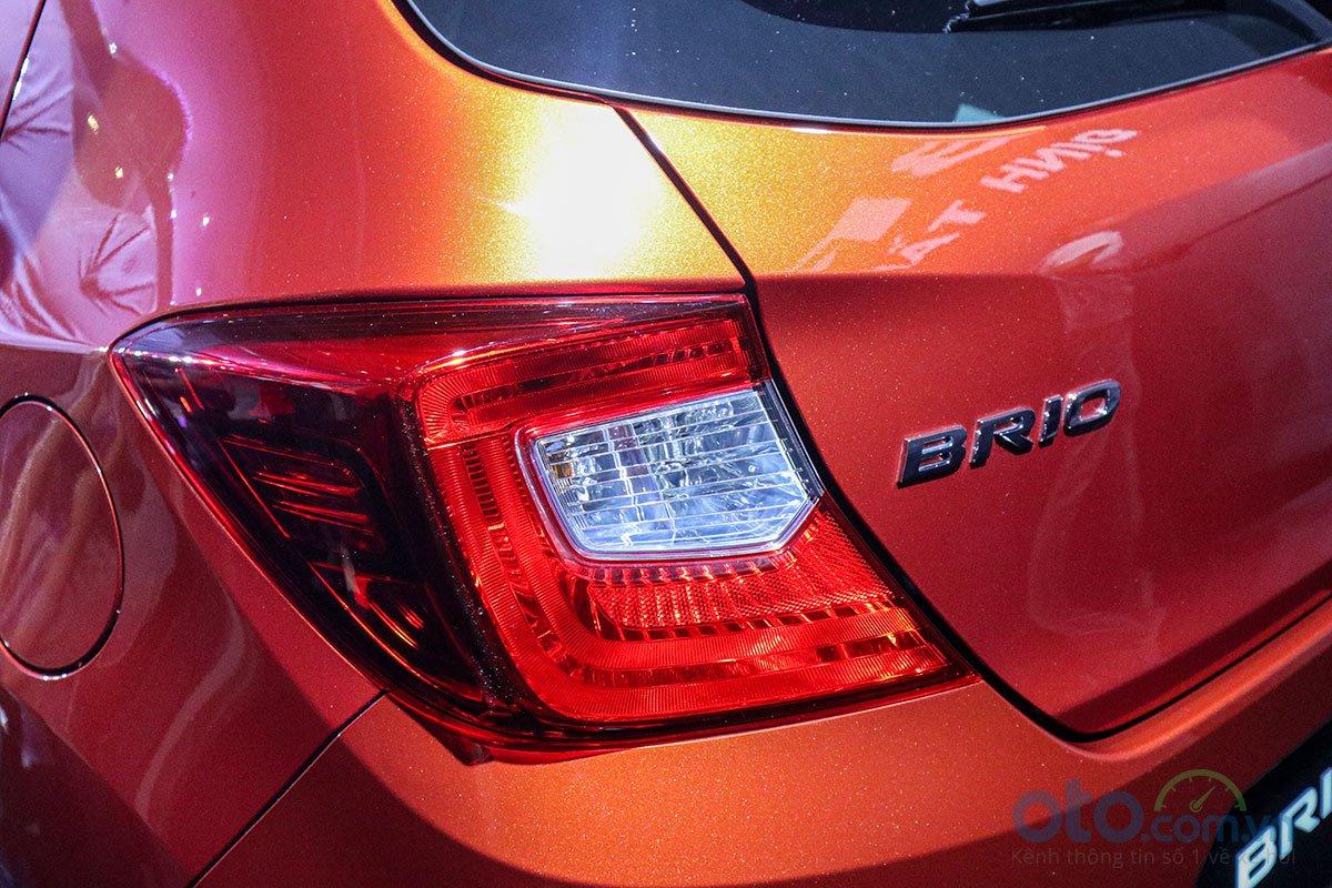 Đánh giá xe Honda Brio 2019: Cụm đèn hậu 1