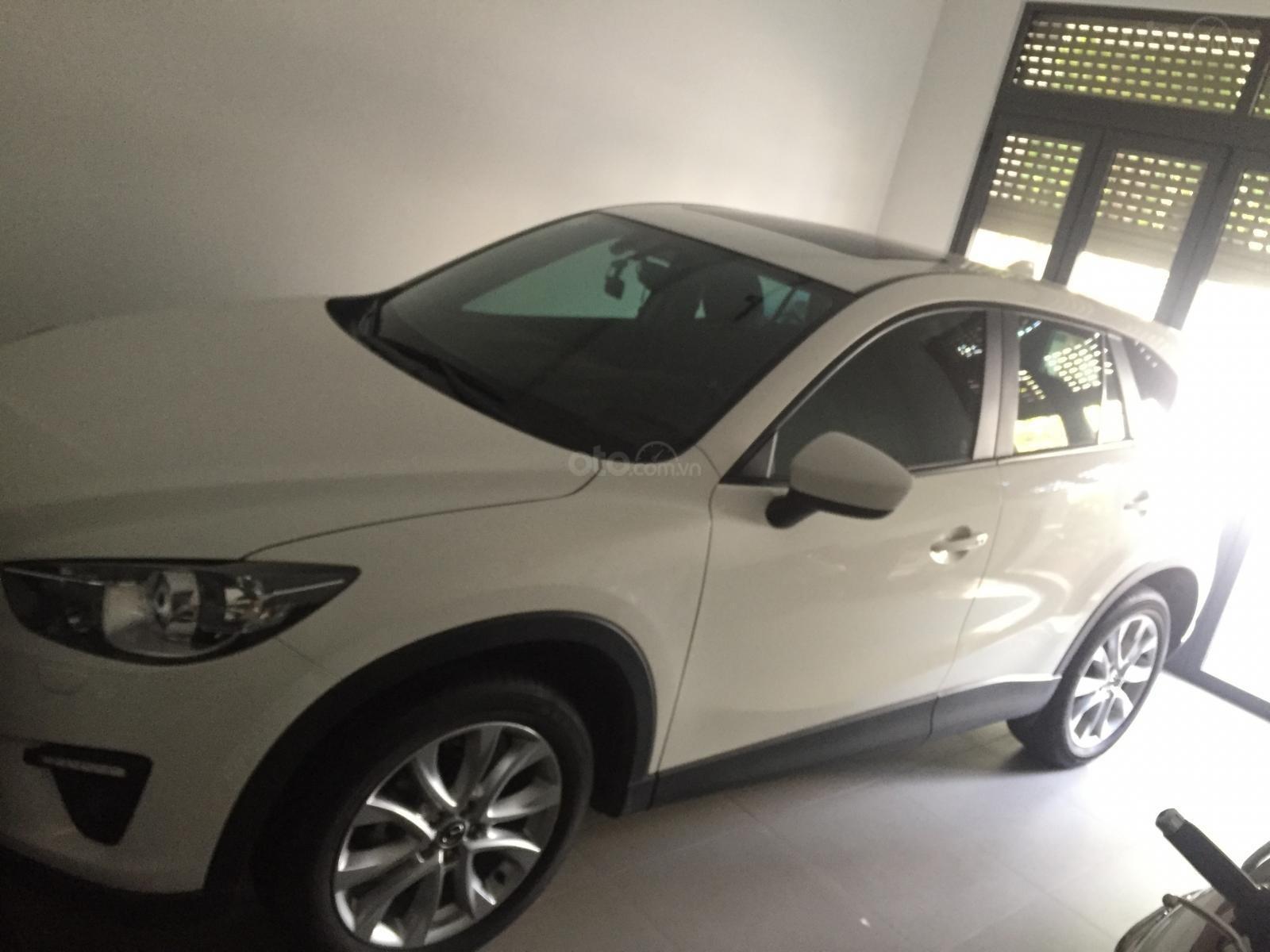 Cần bán xe Mazda CX 5 2.0 AT 2WD đời 2014, màu trắng-0