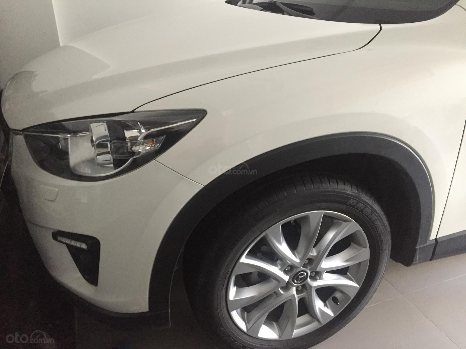 Cần bán xe Mazda CX 5 2.0 AT 2WD đời 2014, màu trắng-4