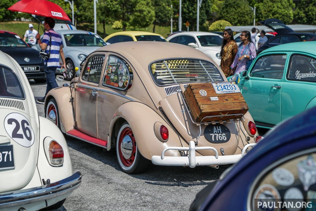 """Hơn 400 """"con bọ"""" tụ họp tại lễ hội Volkswagen Beetle 11a"""