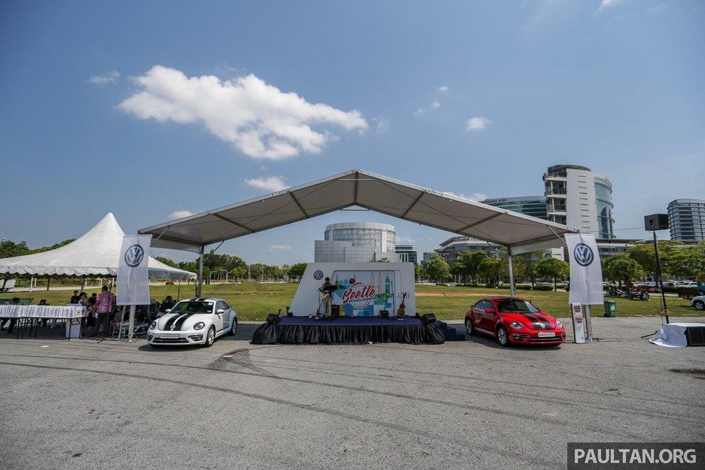 """Hơn 400 """"con bọ"""" tụ họp tại lễ hội Volkswagen Beetle 10a"""