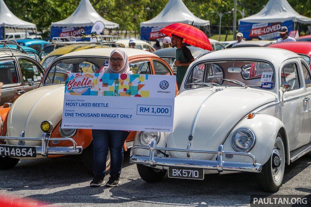 """Hơn 400 """"con bọ"""" tụ họp tại lễ hội Volkswagen Beetle 6a"""