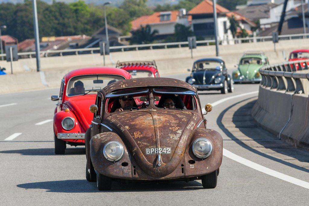 """Hơn 400 """"con bọ"""" tụ họp tại lễ hội Volkswagen Beetle 8a"""