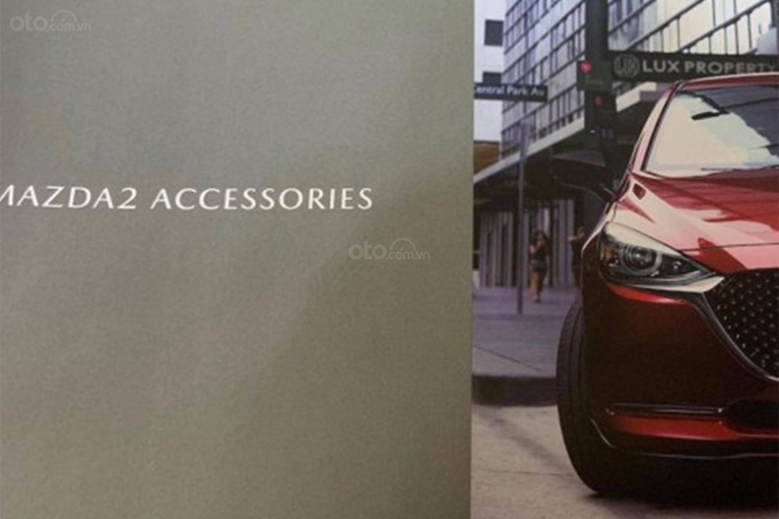 Rò rỉ hình ảnh của Mazda 2 2020 facelift