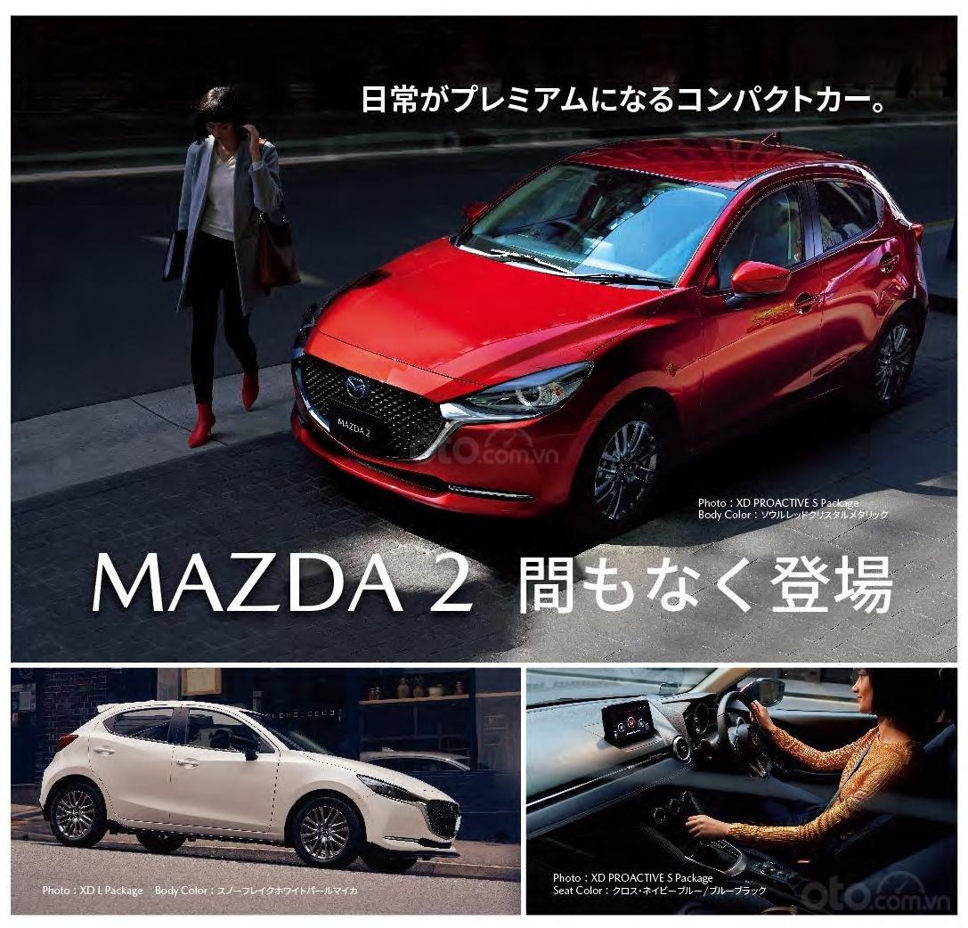 Mazda 2 2020 facelift có thể xuất hiện tại triển lãm ô tô Tokyo