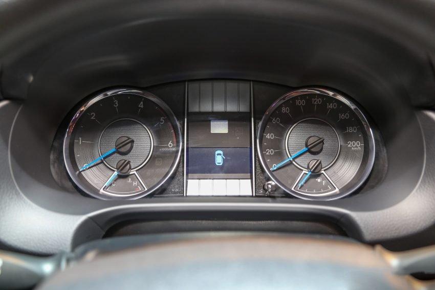 Hình ảnh đồng hồ xe Toyota Fortuner 2019