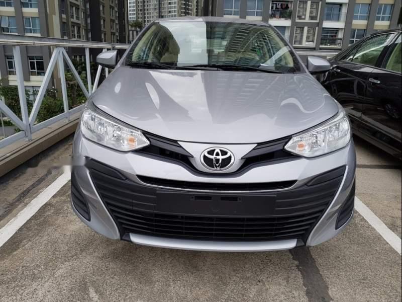 Bán ô tô Toyota Vios đời 2019, màu bạc (1)