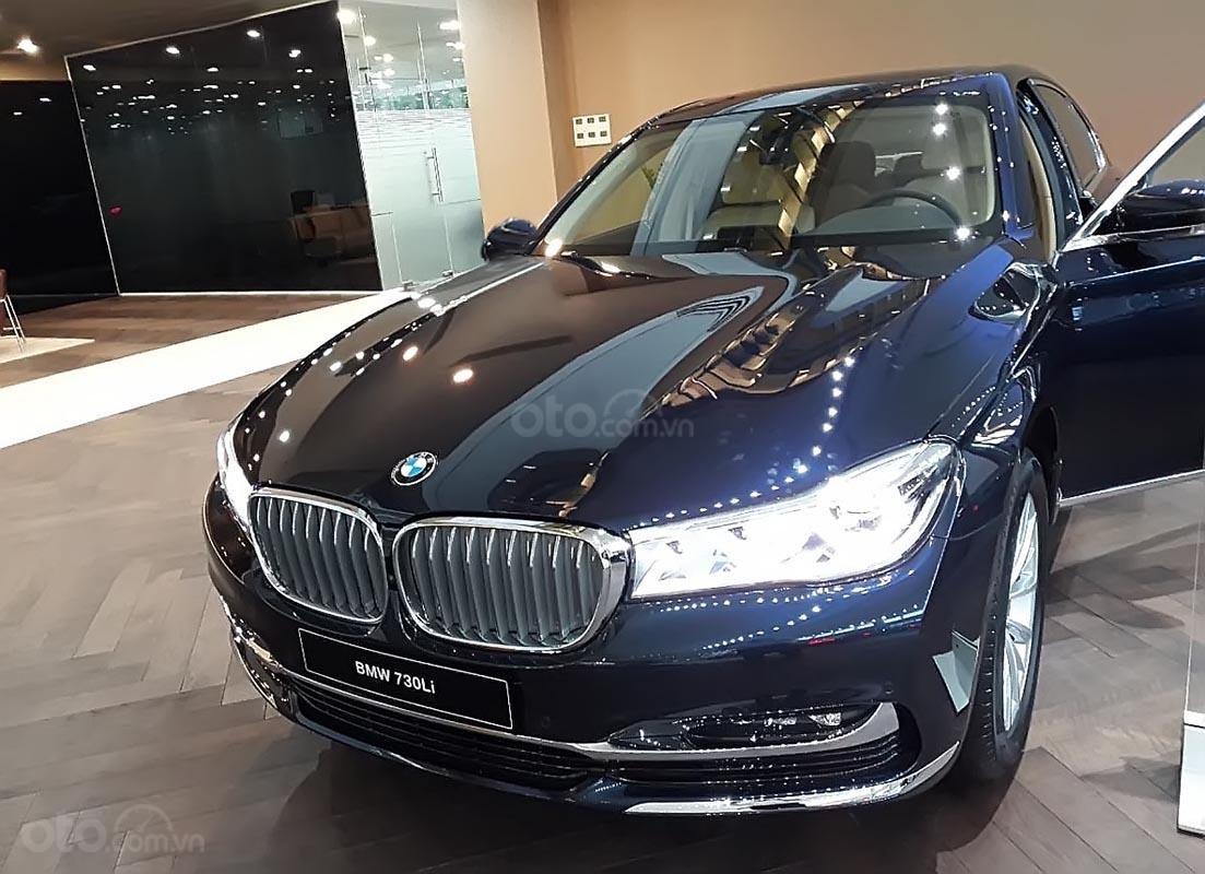 Bán BMW 730Li 2019, màu xanh lam, xe nhập (1)