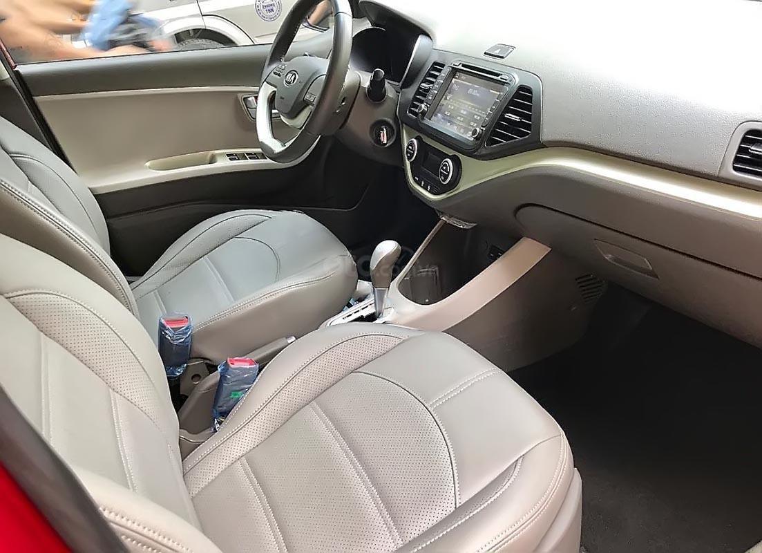 Bán xe Kia Morning Si 1.25 AT 2017, màu đỏ, giá tốt (5)