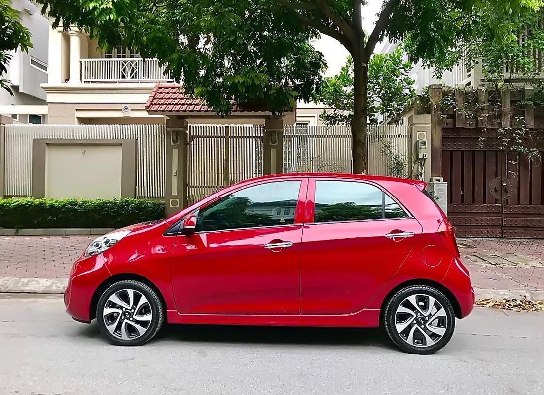 Bán xe Kia Morning Si 1.25 AT 2017, màu đỏ, giá tốt (4)