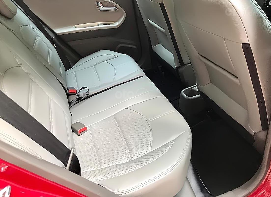 Bán xe Kia Morning Si 1.25 AT 2017, màu đỏ, giá tốt (3)