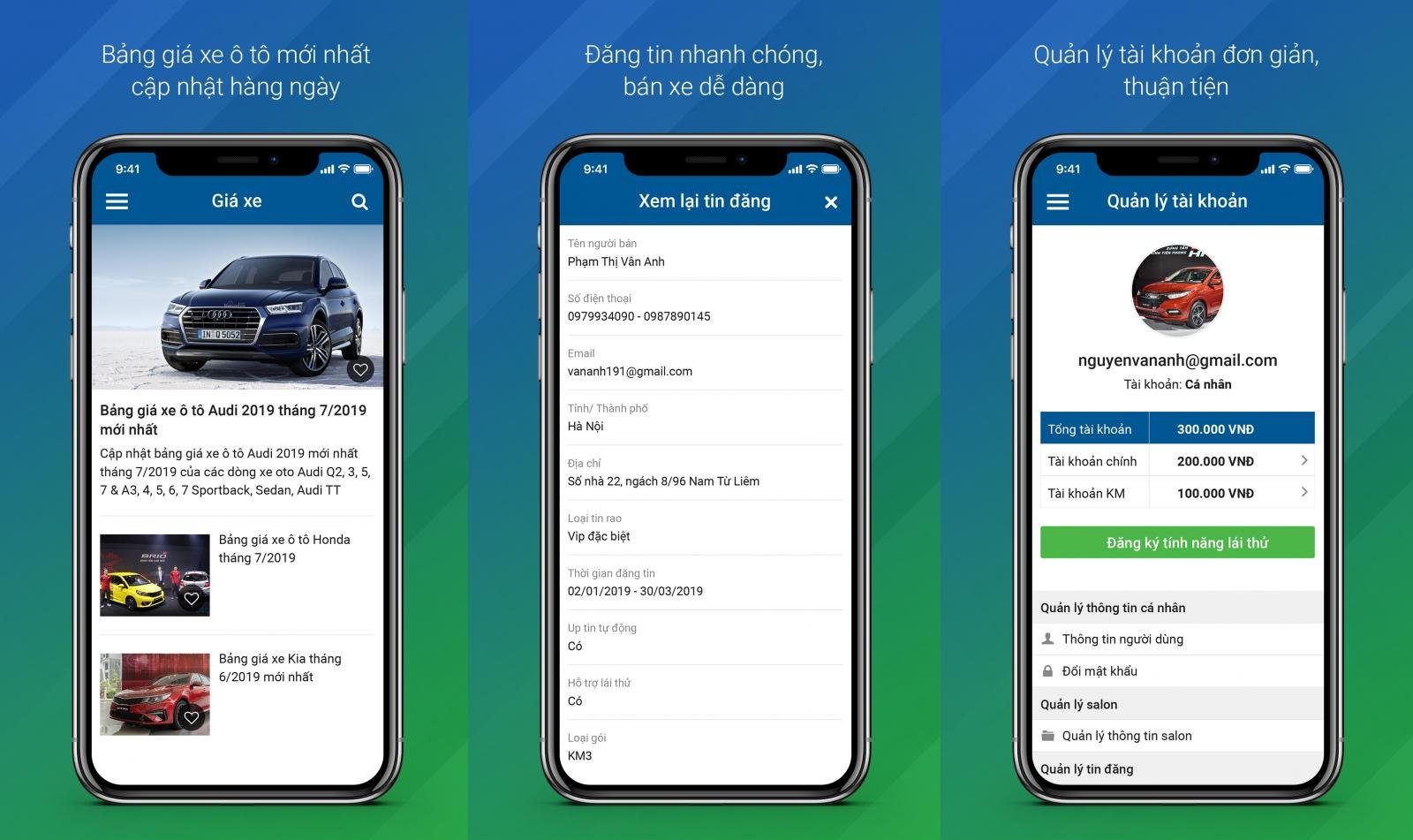 App Oto.com.vn nâng cấp mới với nhiều tính năng và tiện ích tối ưu hơn...