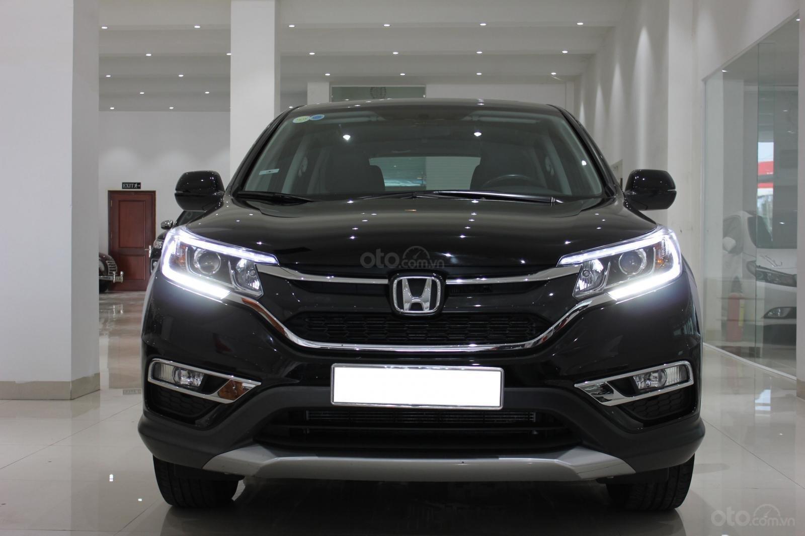 Cần bán Honda CR V 2015, màu đen-0