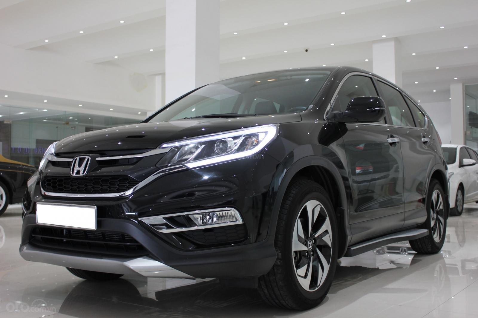Cần bán Honda CR V 2015, màu đen-1