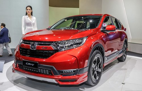 Honda CR-V Mugen chỉ sản xuất giới hạn 300 xe, giá từ 37.100 USD a1