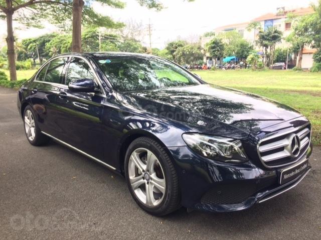 Bán xe Mercedes-Benz E250 xe cũ chính hãng, 2017, xanh đen (3)
