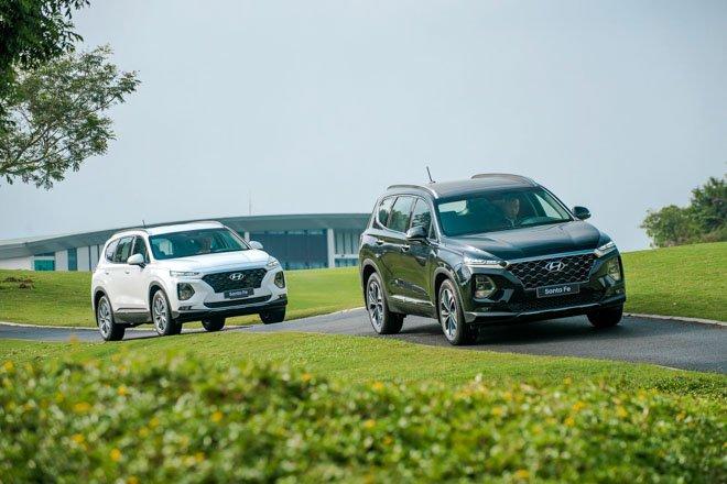 Hyundai Santa Fe 2019 về Việt Nam