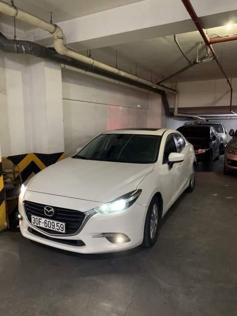 Bán xe Mazda 3 FL năm 2017, màu trắng  (1)