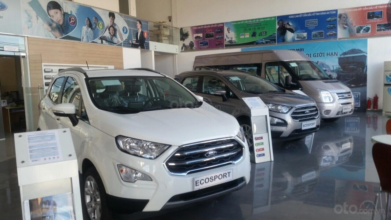 Cần bán Ford EcoSport năm sản xuất 2019, màu trắng tại Phú Yên-0