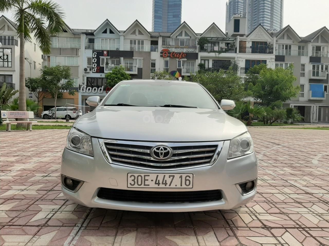 Cần bán xe Toyota Camry 2.4G 2009, màu bạc, 545tr-6