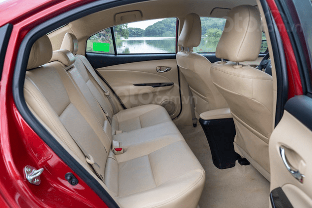 Đánh giá xe Toyota Vios 2019 1.5G CVT: Thiết kế ghế ngồi 1