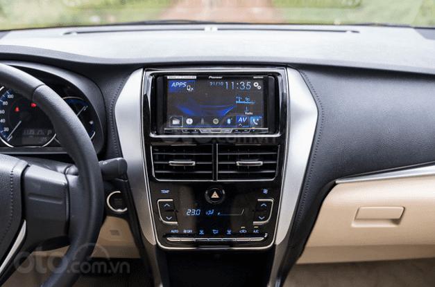 Đánh giá xe Toyota Vios 2019 1.5G CVT về hệ thống tiện nghi 1