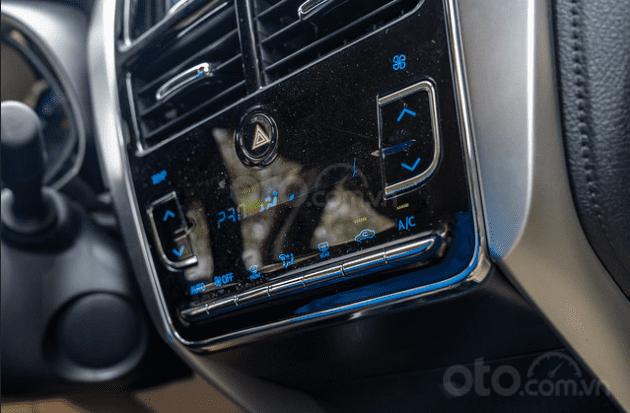 Đánh giá xe Toyota Vios 2019 1.5G CVT: Hệ thống điều hòa 1