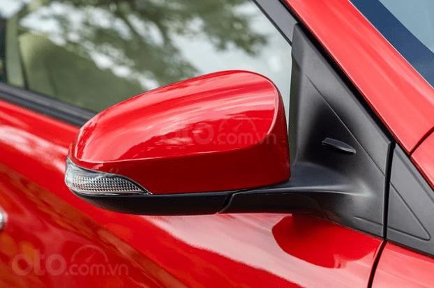 Đánh giá xe Toyota Vios 2019 1.5G CVT: Gương chiếu hậu chỉnh điện 1