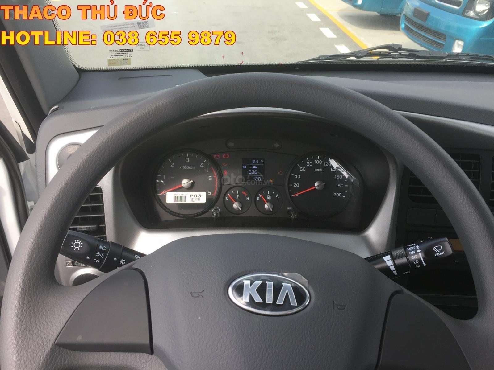 Bán xe tải giá tốt - Kia K250 thùng kín- dài 3,5m- tải 2,4T/ 1,4T- hỗ trợ trả góp 75%- LH 038 655 9879 (3)